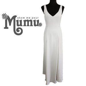 Show Me Your Mumu Jenn Maxi Dress Nude Size S